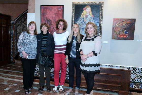 El Castillo El Bil-Bil alberga la exposición del colectivo 'Art Nou'