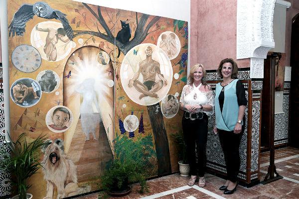 El Castillo El Bil-Bil acoge la exposición pictórica de la artista británica Nanzy