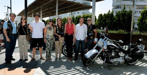 La exposición de Harley-Davidson reunió en Pueblosol a más de 70 motos de la mítica marca americana