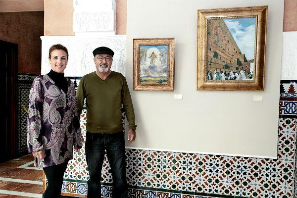 El Castillo El Bil-Bil acoge la exposición de pinturas de Boz Vakhshori