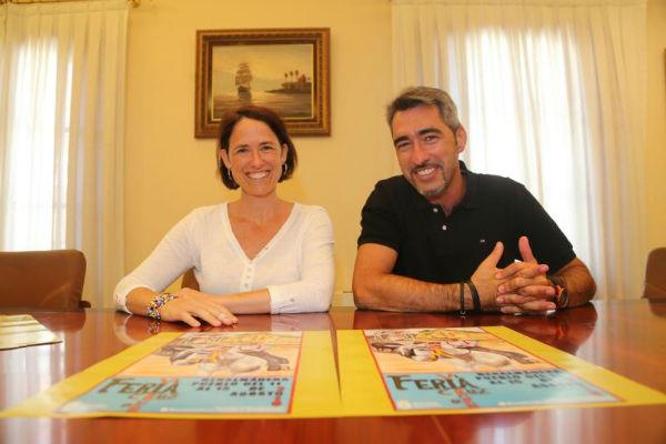 El Alcalde y la Concejala de Festejos presentan el Cartel y Programación de la feria de la Virgen de la Cruz 2016