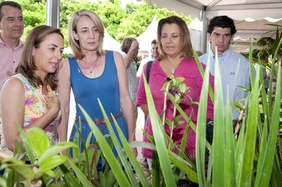 La Alcaldesa Inaugura la VI Feria del Cactus que Cosecha un Gran Éxito de Participación.