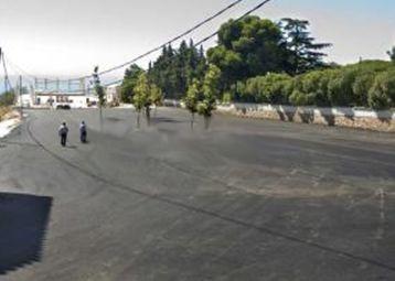 Asfaltado del recinto ferial de Benalmádena pueblo