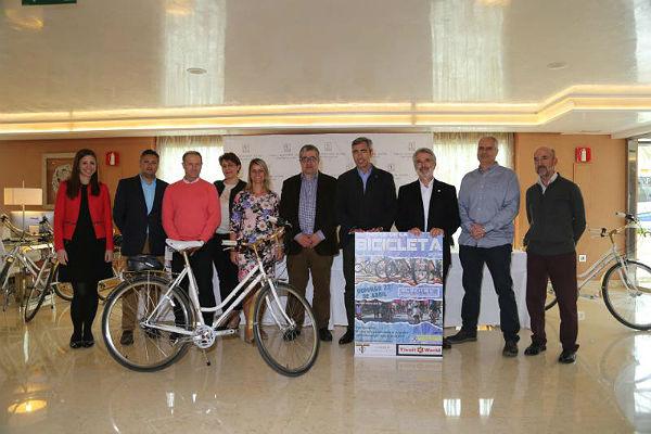 La Fiesta de la Bicicleta espera superar el millar de participantes en su 35º edición el domingo 22 de abril