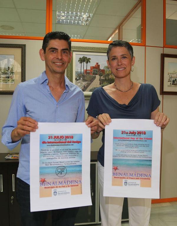 BENALMÁDENA CELEBRA EL DÍA INTERNACIONAL DEL AMIGO EN LA PLAYA  DE BENAL BEACH EL PRÓXIMO 21 DE JULIO