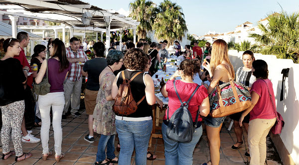 Más de 200 personas asisten a la Muestra Gastronómica Internacional del Centro Municipal de Formación Permanente