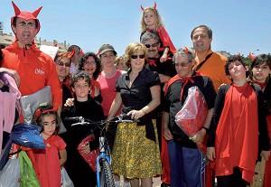 Buen ambiente y alta participación en la Fiesta de la Bicicleta