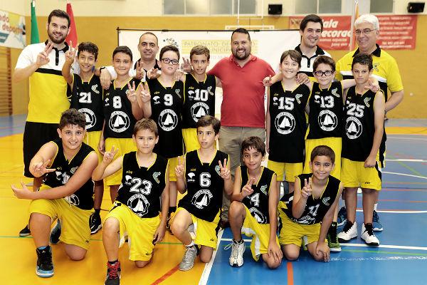 El conjunto Minibásquet de Benalmádena se proclama campeón de la Copa Promoción  A durante la Final Four