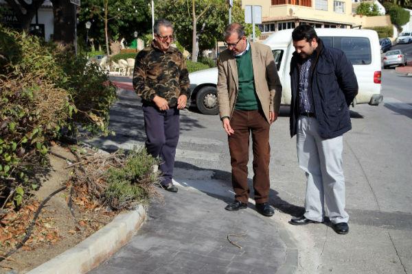 Finalizan las obrass de eliminación de barreras arquitectónicas en el tramo Tívoli-Chare
