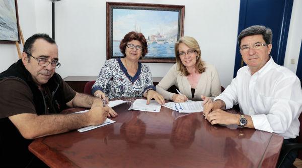 El Puerto Deportivo y ABAD firman un convenio de colaboración para impulsar el deporte náutico adaptado