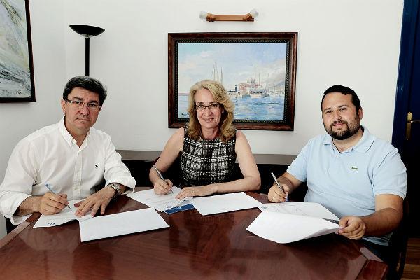 El Puerto y el Patronato Deportivo Municipal sellan su compromiso con el fomento del deporte en Benalmádena