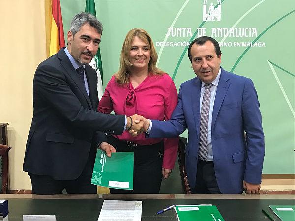 El Alcalde Víctor Navas renueva con la Junta de Andalucía el Convenio para Garantizar la Atención de Menores en Riesgo o Desprotección