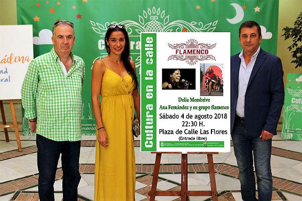 Gran velada flamenca el sábado en la Plaza Las Flores