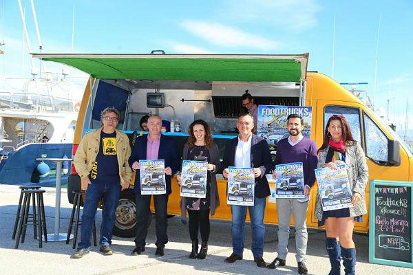 El Puerto Deportivo acoge la presentación del 'Food Truck Experience'