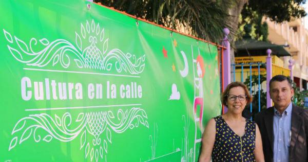 El Parque de la Paloma y El Castillo del Bil-Bil serán los principales escenarios este verano del programa ¨Cultura en la Calle¨