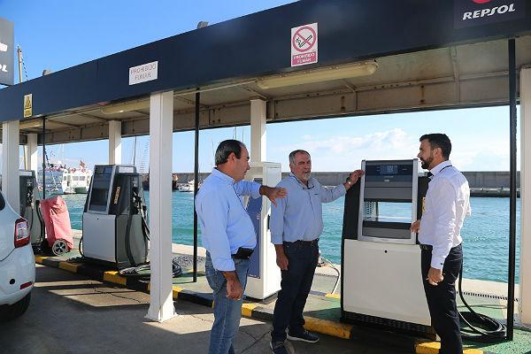 El Puerto de Benalmádena culmina una renovación completa de su estación de servicio