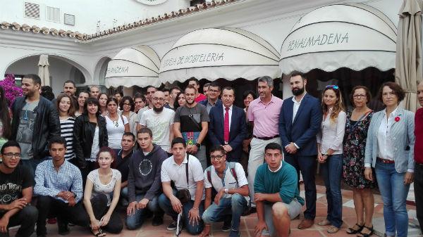 Arranca la formación para el empleo en Hostelería incorporado ya el alumnado al completo en La 'Cónsula' y 'La Fonda'