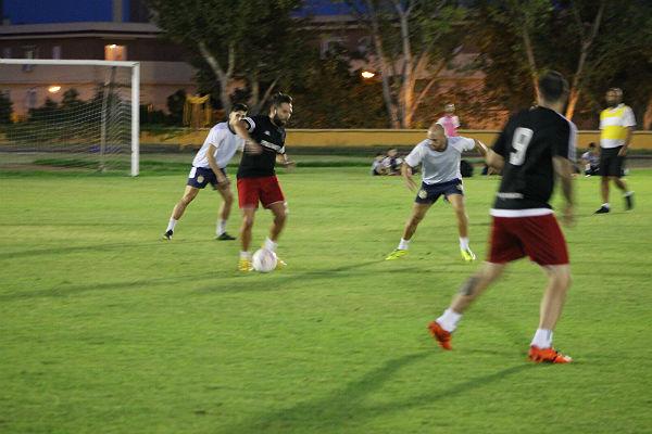 El 19º Torneo de Fútbol 7 Cruzcampo celebra su final en el campo de césped natural del Polideportivo de Arroyo de la Miel