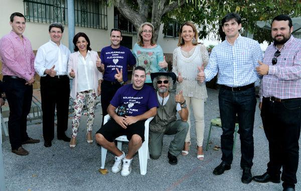 Más de 200 personas asisten a la Gala Solidaria a Beneficio de Alejandro Duarte