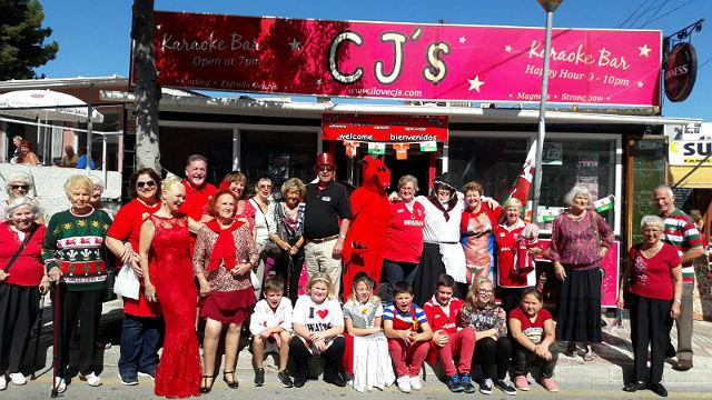 Los residentes Galeses de Benalmádena celebran su fiesta de Saint David