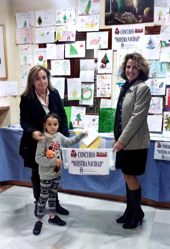 Irene Alarcón, de 9 años, inaugurará el alumbrado navideño tras ganar el concurso 'Nuestra Navidad'