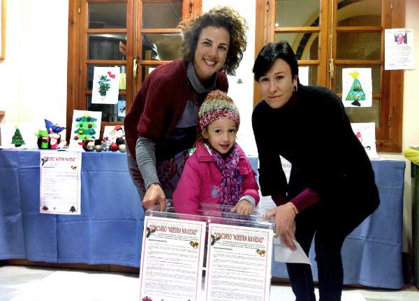 Alba Raya González alumna de Primaria del colegio 'La Leala', inagurará la iluminación navideña
