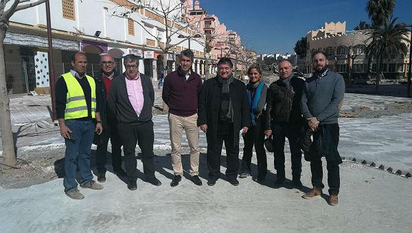 La remodelación integral del Paseo del Generalife concluirá en marzo