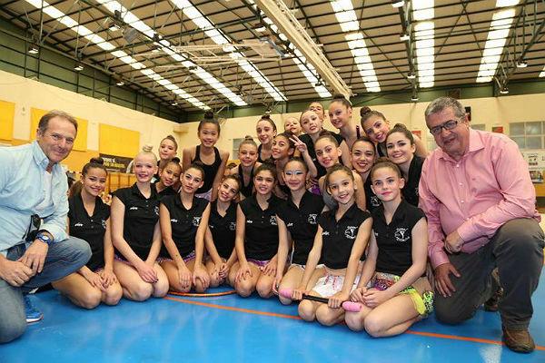 Más de 200 Gimnastas participaron en la Exhibición de la Escuela Municipal de Gimnasia Rítmica