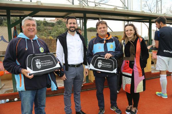 La Concejalía de Turismo y el Puerto Deportivo cierran un acuerdo de patrocinio y colaboración con el Club de Hockey Benalmádena