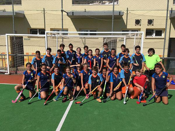La cantera del Club Hockey Benalmádena echa a rodar