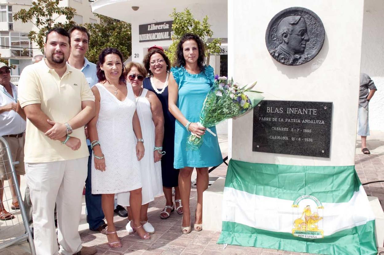 El Ayuntamiento y '¿Yo? ¡Producto Andaluz!' celebran el 76º aniversario de la muerte de Blas Infante