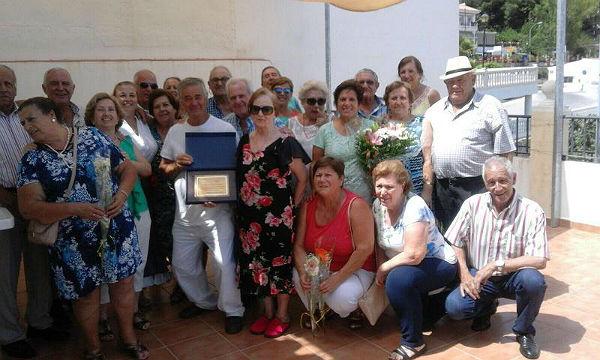 El Centro de Participación Activa de Mayores 'Silvestre González' homenajea a Fernando Águeda y María Jesús García