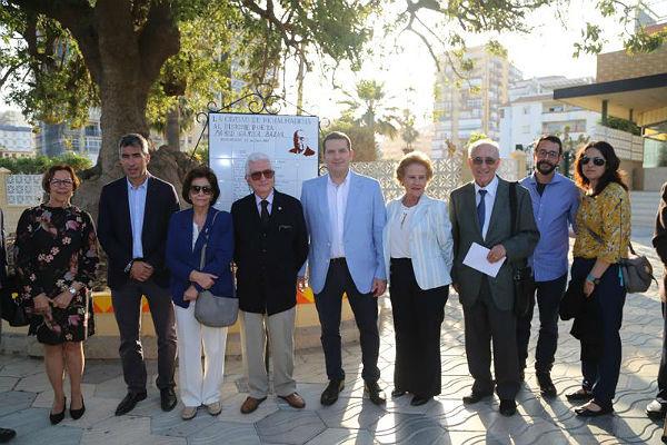 Benalmádena rinde homenaje al poeta Pablo García Baena