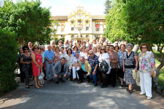 Más de medio centenar de mayores participaron en la actividad 'Hoy nos vamos a Diputación'