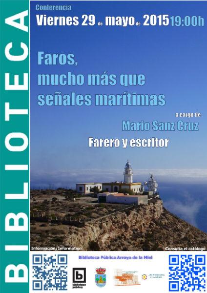 La Biblioteca de Arroyo acogerá el próximo viernes una conferencia sobre los faros marítimos españoles
