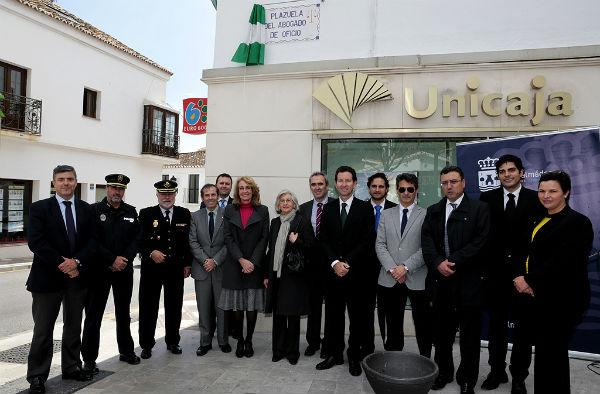 El Ayuntamiento de Benalmádena rinde homenaje a los abogados de oficio.