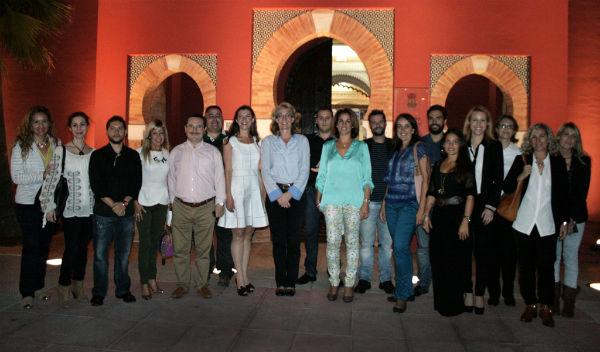 La alcaldesa inaugura el nuevo curso 2014/2015 del Centro Municipal de Formación Permanente