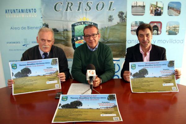 El Club de Golf Crisol dona los beneficios del torneo a la Asociación Comedor Social