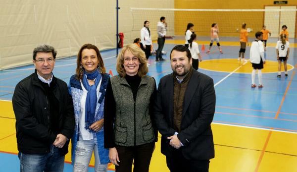 La alcaldesa da el pistoletazo de salida a los 32º Juegos Deportivos Municipales, en los que participarán cerca de 3.000 niños