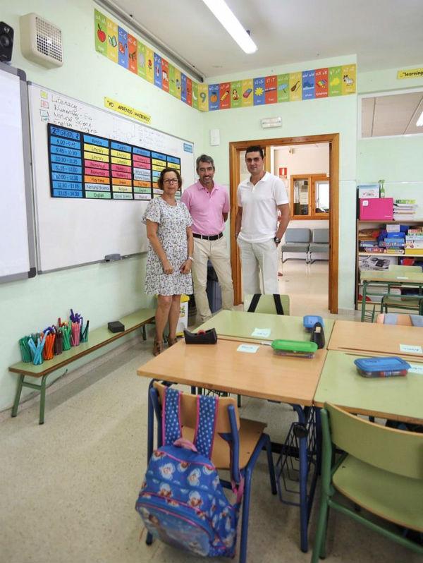 Más de 5.500 alumnos de infantil y primaria comienzan hoy el curso escolar en Benalmádena