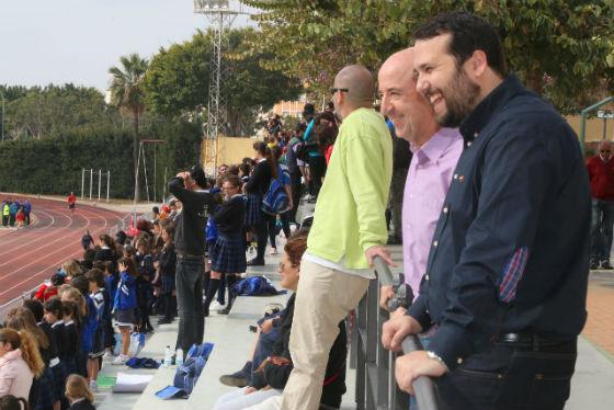 Jornada Benjamín Alevín de atletismo de los centros educativos de Benalmádena