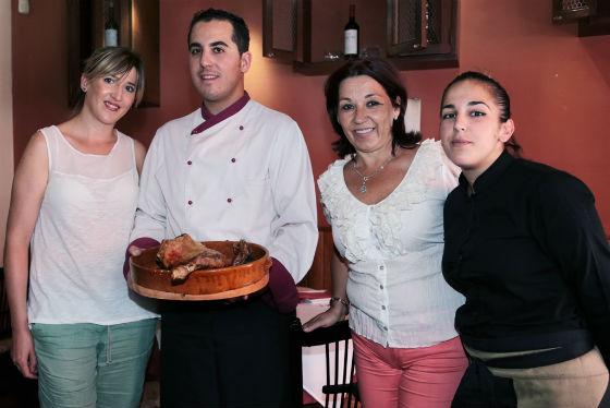El restaurante 'La Abuela Mariana' acoge las I Jornadas del Lechazo