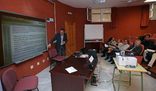La Concejala Elena Galán clausura la Jornada de Integración de la Prevención de Riesgos Laborales en la Gestión de Obras de Construcción
