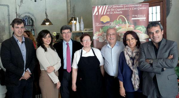 El restaurante Alborada celebra la XII Jornada Gastronómica de la Legumbres y los Guisos de la Abuela
