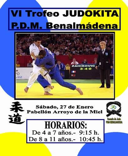 VI Trofeo Judokita  PDM Benalmádena
