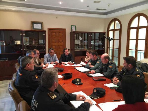 La Junta Local de Seguridad destaca el descenso de infracciones penales en Benalmádena durante 2016
