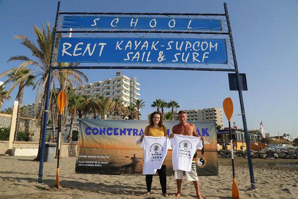 Cuenta atrás para la XXI Edición de la Concentración de Piragüas de la Costa del Sol, en la Playa de Fuente de la Salud