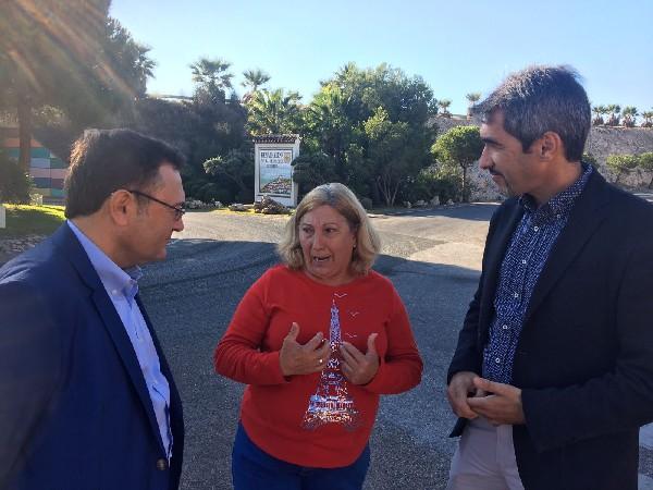 Benalmádena reclama al Gobierno de Rajoy que acorte los plazos para adelantar el inicio de las obras de remodelación del acceso a Benalmádena desde la autovía