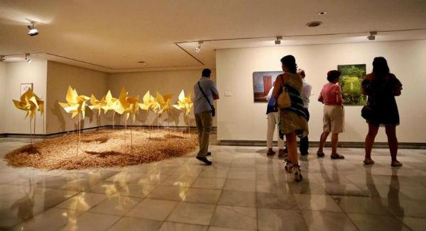 El Centro de Exposiciones organiza visitas guiadas a la exposición 'La Belleza del Ser'