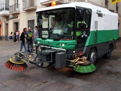 Refuerzo de limpieza urbana en Navidad